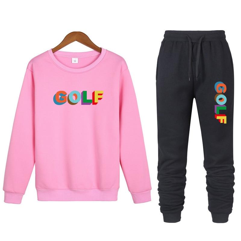 Tyler the Creator 2 Piece Set Warm Tracksuit Sportswear