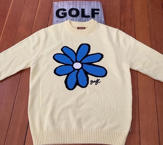 Golf Flower Le Fleur Tyler The Creator Sun Flower Sweater ...