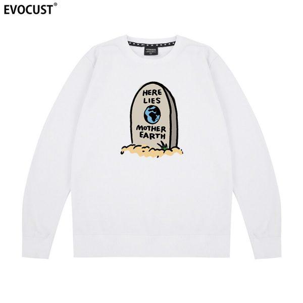 Golf Wang Here Lies Mother Earth Flower Boy Skate Sweatshirt