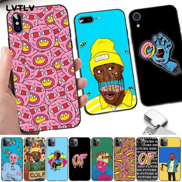LVTLV Golf Wang Tyler Creator Odd Future Santa Cruz Phone