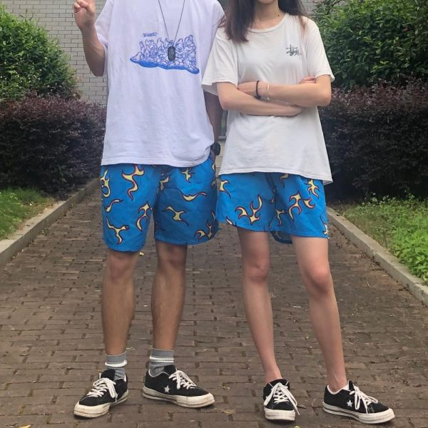 Comfortable Tyler The Creator Golf Fire Casual Shorts